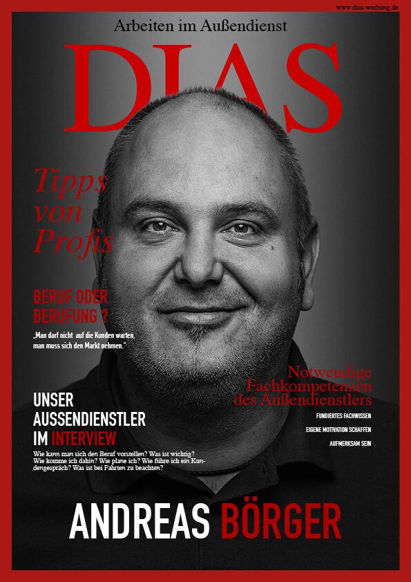 Fertigung und Montage von Aussenwerbung und Anlagen - Druckproduzent - Textildruck Offset - Digital | DIAS Werbung | Aussendienst Andreas Börger